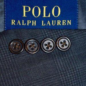42L Polo Ralph Lauren Current Gray Plaid BLAZER